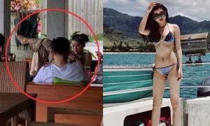 Sau khi bị soi dáng ngồi kém duyên nơi công cộng, Á hậu Huyền My đăng ảnh diện bikini nhỏ xíu