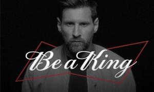 Budweiser ra mắt 644 chai thiết kế phiên bản giới hạn tượng trưng cho số bàn thắng Messi đã ghi được
