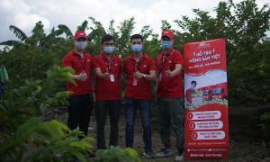 Na được mùa, J&T Express hỗ trợ nông dân Hải Phòng vận chuyển