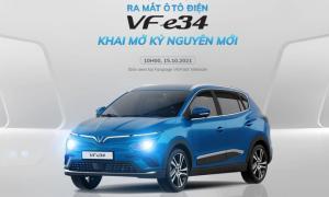 VinFast chính thức ra mắt xe điện VF e34