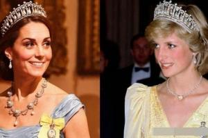 Kate Middleton thừa hưởng 8 món trang sức mang tính biểu tượng nhất của Công nương Diana