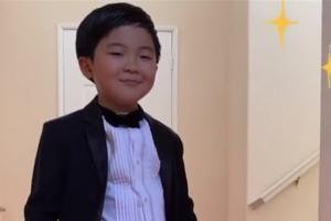 Alan S. Kim: Cậu bé 8 tuổi đáng yêu giành giải thưởng điện ảnh lớn
