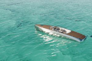 Tàu nhôm chạy bằng điện tốc độ 130 km/h