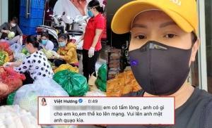 Việt Hương lên tiếng đáp trả tinh tế khi bị antifan chê keo kiệt lúc làm từ thiện
