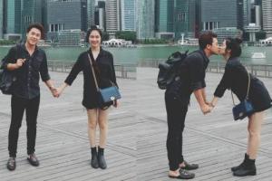 Chồng thiếu gia của Hòa Minzy hiếm hoi hé lộ ảnh hẹn hò ngày mới yêu