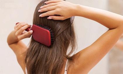 chải tóc, chải đầu, lợi ích của chải tóc