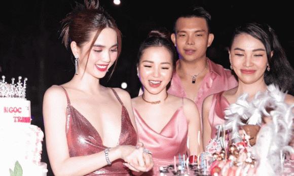 người mẫu Ngọc Trinh, sao Việt